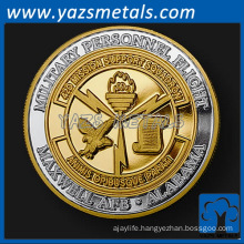 custom Coins, gold plating and silver plating